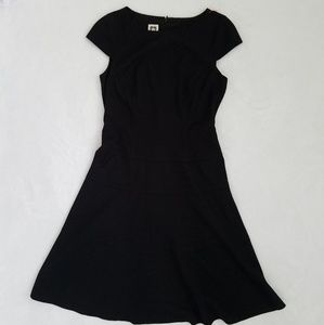 Anne Klein Fit and Flare Black Dress